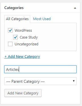 How to Build a Website to make money A1 Categories