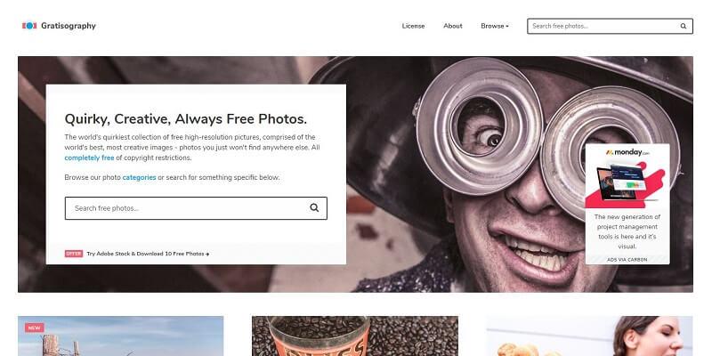 Finding Free Website Background Images Gratisography