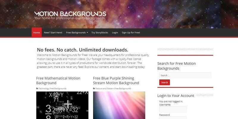Finding Free Website Background Images MotionBackgrounds