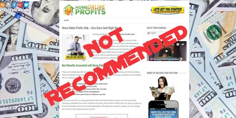 Home Online Profits Club Review - Feature