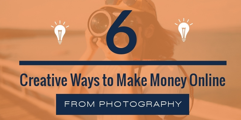 How to Make Money Online From Photography feature
