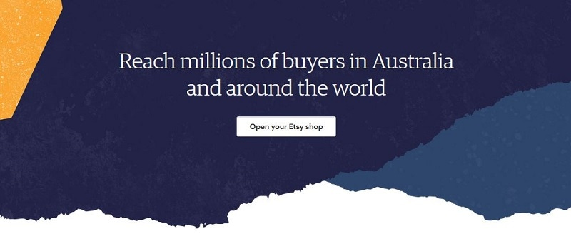 Make money online from Australia Etsy