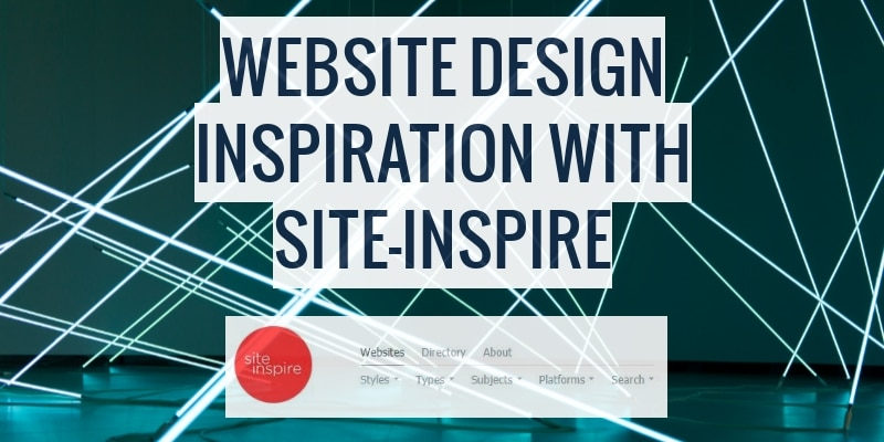 Website Design Inspirations With SiteInspire Feature