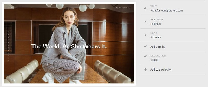 Website Design Inspirations With SiteInspire designer1