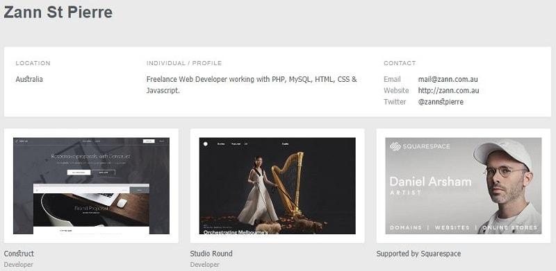 Website Design Inspirations With SiteInspire developer