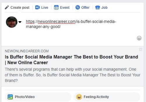 How to Debug for Facebook Posting-No-image