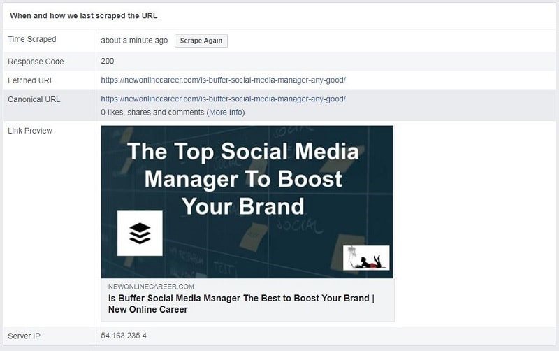 How to Debug for Facebook Posting-yes-image1