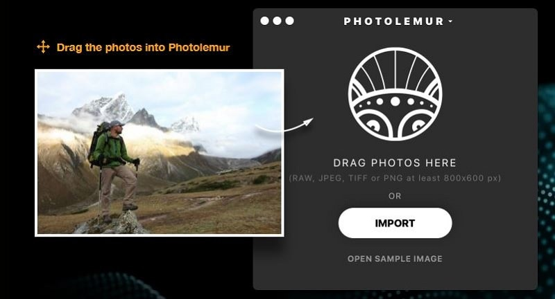 Photolemur Automated Photo Editor Review drag