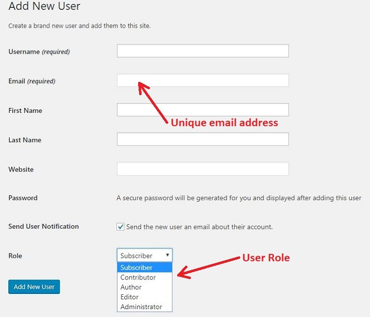 How to Change Post Author in WordPress - user form