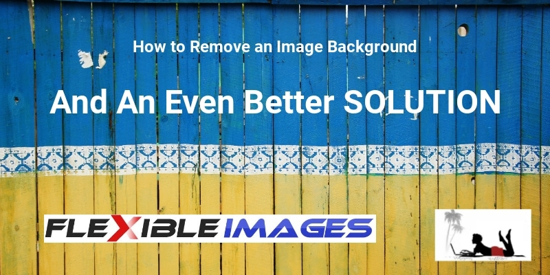 how to remove an image background feature