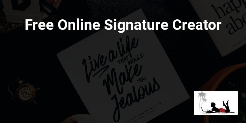 Free Online Signature Creator
