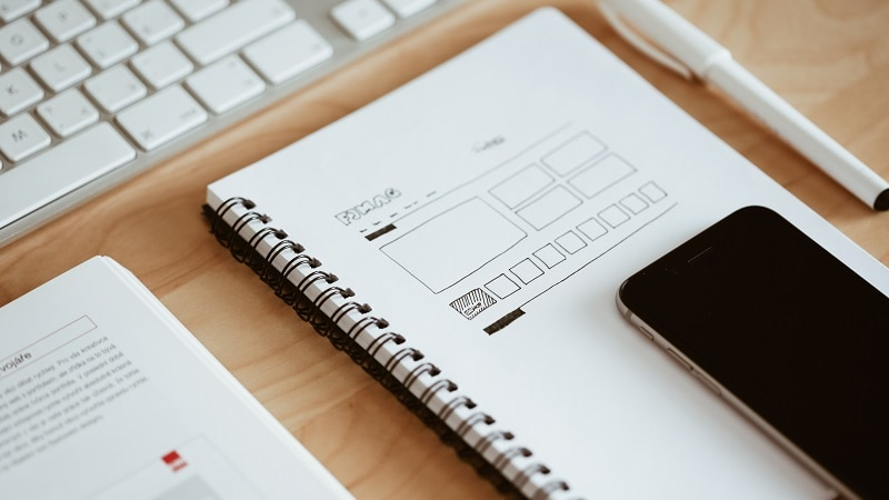 What Are The Basics of a Website Build With Menu Planning