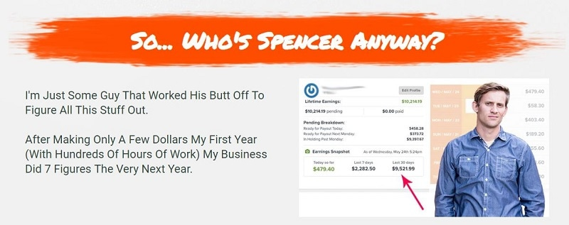 What is Affiliate Secrets 2.0 Who Is Spencer