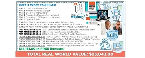 New Price List Six Figure Success Academy