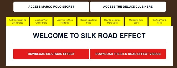 The Silk Road Effect Review Inside