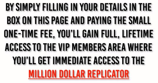 What is The Million Dollar Replicator Claim2