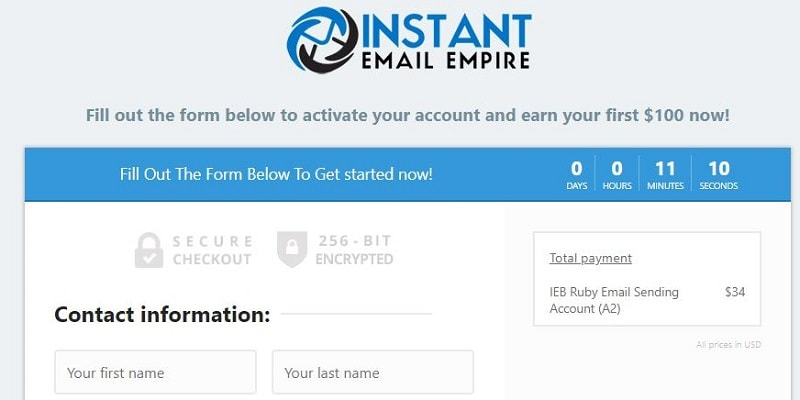 Copy My Email System Scam Instant Email Empire