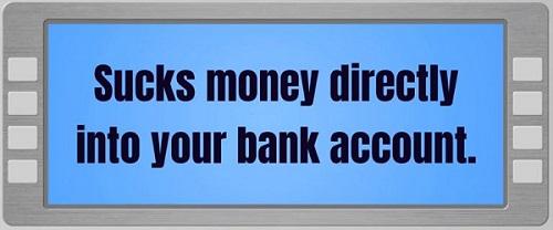 Is Website ATM a Scam Sucks Money into your account