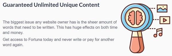 Fortuna WordPress Plugin Review Content