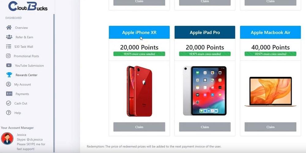 Is Clout Bucks a Scam Rewards Center