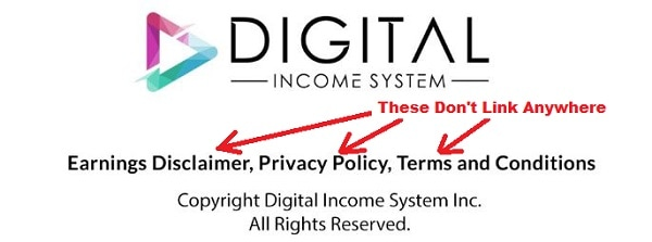 Is Digital Income a Scam Disclaimers