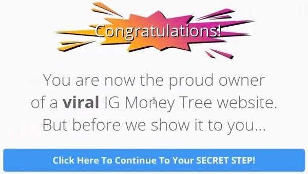 Is IG Money Tree a Scam Setup Congrats