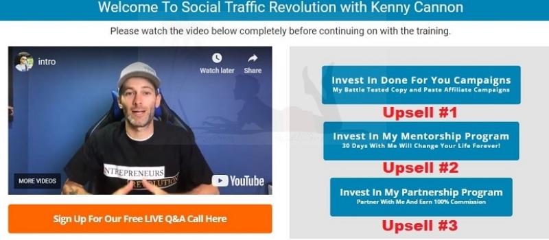 Is Social Traffic Revolution a Scam Upsells