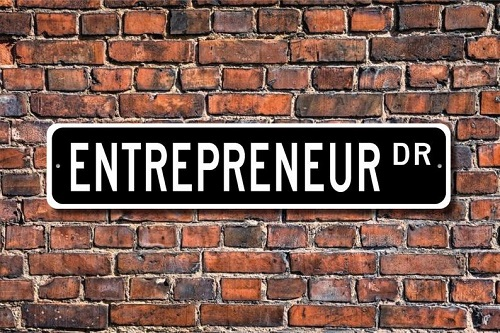 Entrepreneur sign