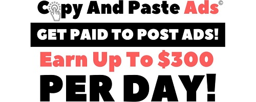Copy and Paste Ads Banner