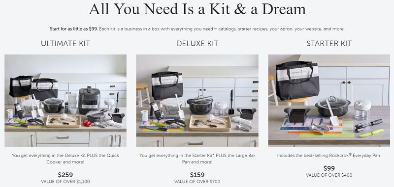 Pampered Chef Kits