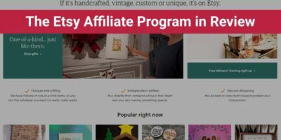 The Etsy Affiliate Program in Review (Uniqueness!)