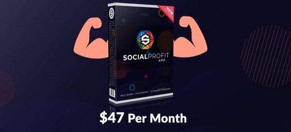 Social Profit App $47 per month