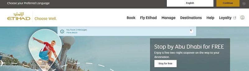 Etihad Airlines Affiliate Program