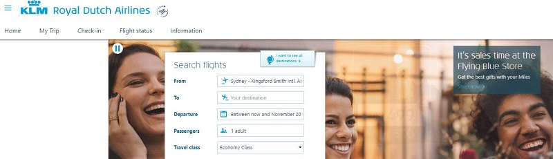 KLM Affiliate Program