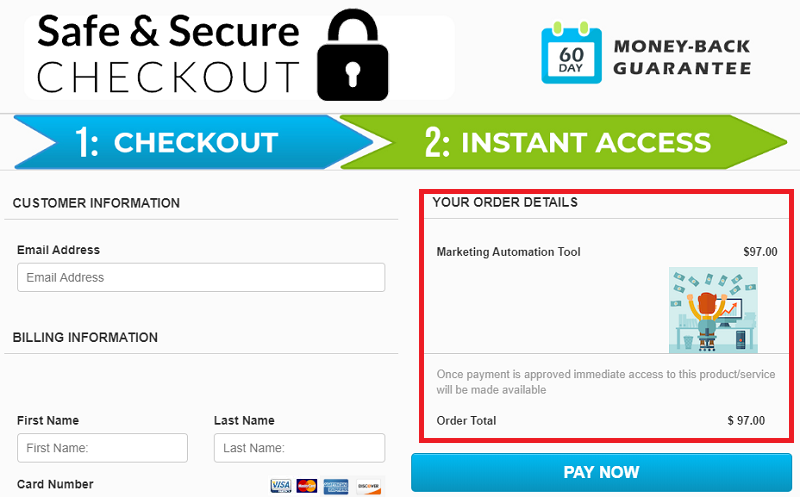 20 Minute Cash System Review Checkout