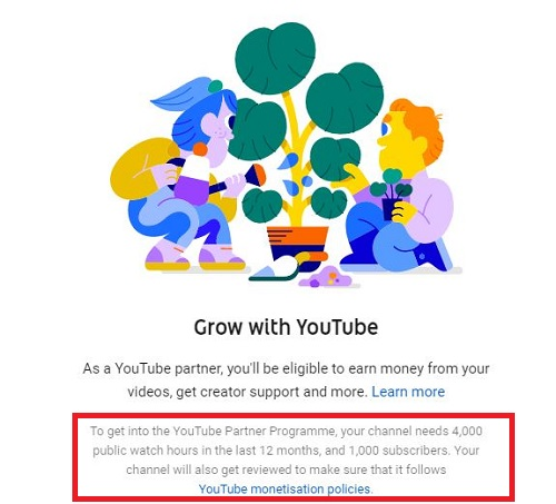 YouTube Monetization Guidelines