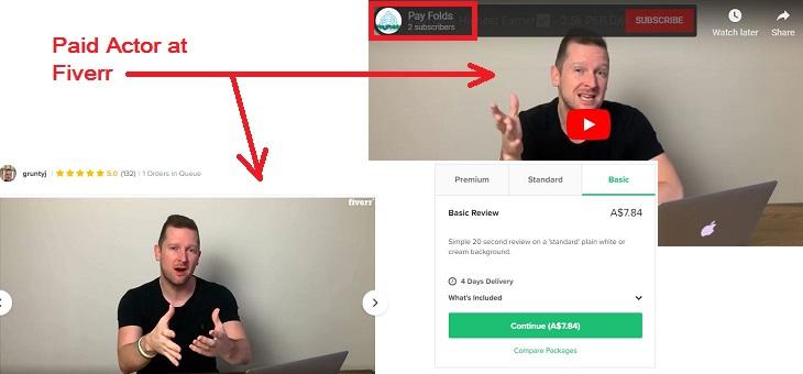 Fake Video Testimonial