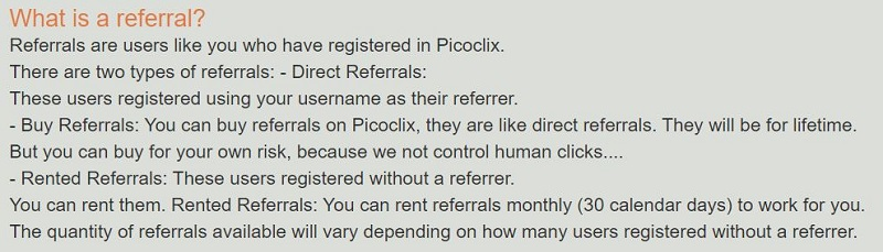 PicoClix Referrals