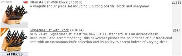 Vector Marketing Cutco Products