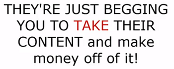 YouTubers are begging you to take their content