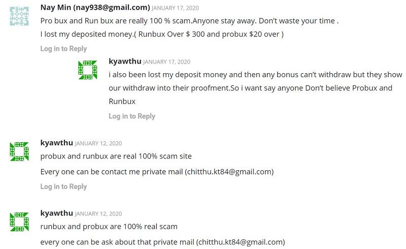 BitMoneyTalk ProBux Reviews