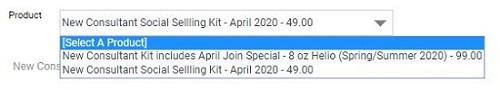 Jordan Essentials Consultant Kits