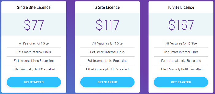 Cost of Link Whisper