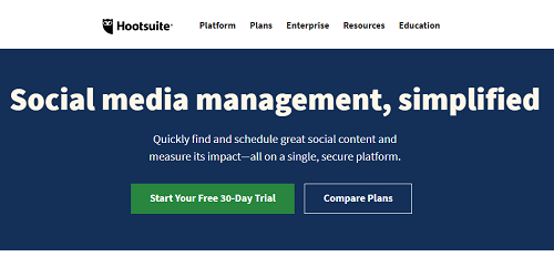 Hootsuite affiliate marketing tools and resources