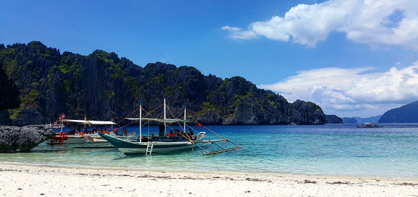 Boat in the Philippines