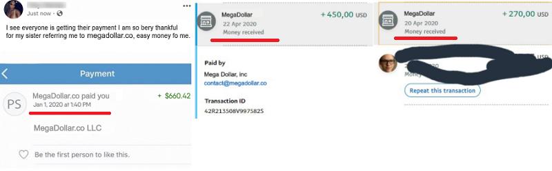 MegaDollar co PaymentProof