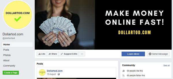 DollarTod Facebook