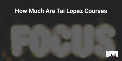 How Much Are Tai Lopez Courses 2021