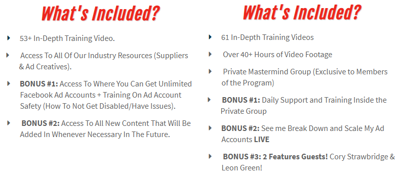 Performance Dropshipping Course Costs